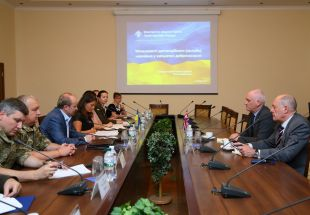 Working Meeting Held At NUOU On Pilot Distance Course On Preventing Corruption